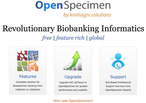OpenSpecimen