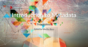 Introduction to Metadata